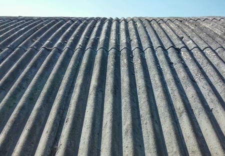 construction: Asbestos roof