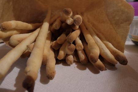 Breadsticks. Regional Piedmont bread. italy