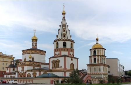 ortodox: Ortodox Church in Irkutsk, Russia Stock Photo