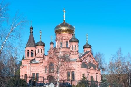 ortodox: Ortodox Church of Elijah Prophetin in Izvarino, Russia