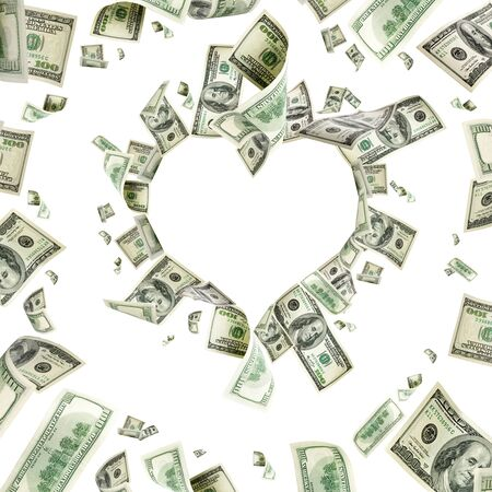 달러 표시. 미국 돈. 현금 배경, 우리 청구서. 돈팔