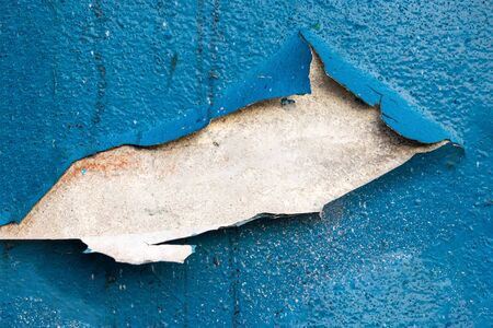 Old wall texture. Painted Distressed Wall Surface. Grungy Wide B Stock Photo