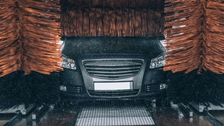 Touchless Car Wash Stock Photos and Images - 123RF
