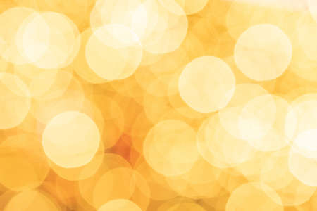 Light background gold. Abstract Festive glitter Bokeh blur. Holiday texture Banque d'images