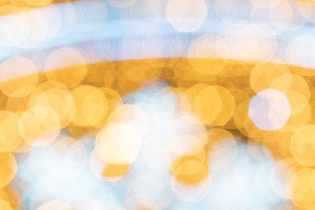 Background texture glitter. Abstract gold Festive lights. Blur Bokeh glamor