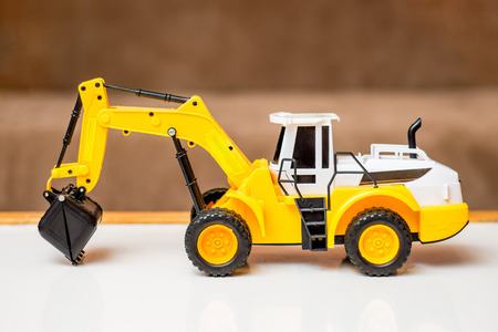 childrens toy excavator, birthday gift, sale and purchase of childrens toys