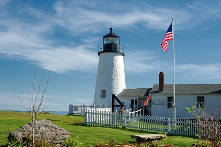 navigational light: Maine