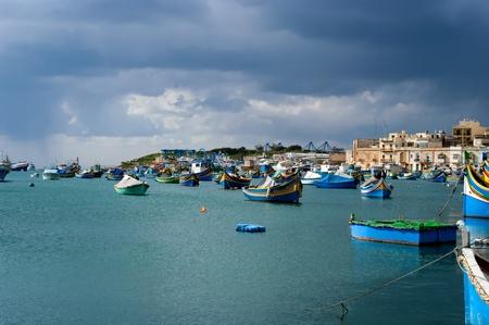 Malta fishing village
