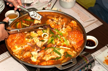 Korean seafood mix