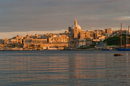 Malta in evening