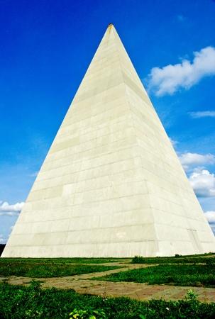 Pyramid near Moscow, Russia