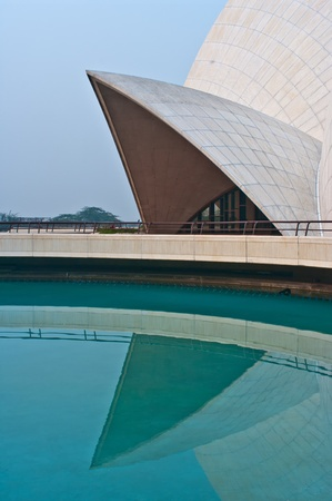 Lotus Temple in Delhi. Stock Photo - 11762642