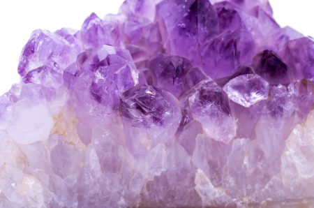 Amethyst crystal photo