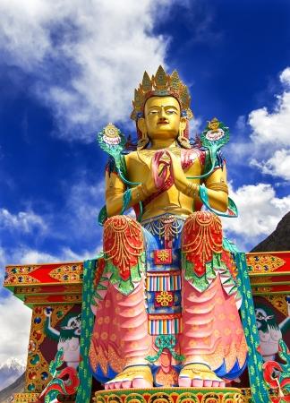 Buddha Maitreya Statue Stock Photo - 15948592