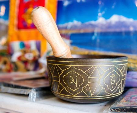 Buddhist singing bowl vase Stock Photo - 20162148