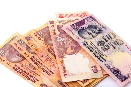 indian currency: Billetes indios