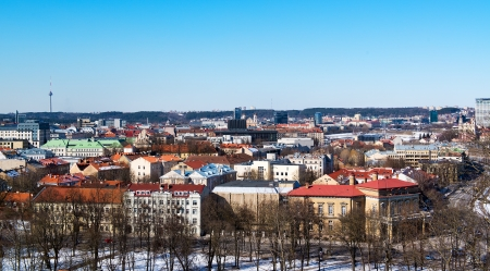 vilnius: Vilnius view Stock Photo