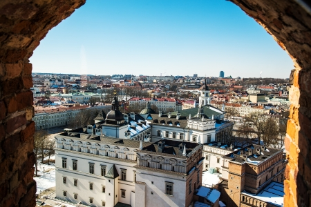 Vilnius view Stock Photo