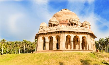 shah: Tomb of Mohammed Shah, Lodhi Gardens, New-Delhi