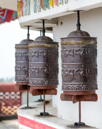 Buddhist prayer wheels Stock Photo - 22857776
