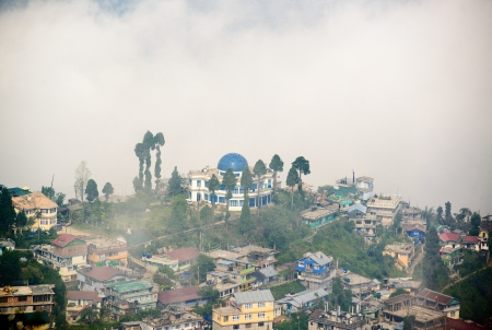 Darjeeling town in India