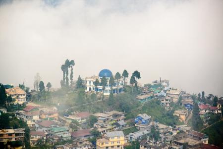 darjeeling: Darjeeling town in India
