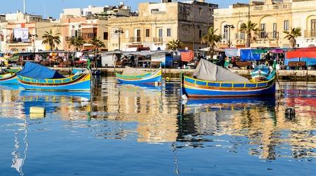 Fishing Boats, Marsaxlokk Harbour, Malta