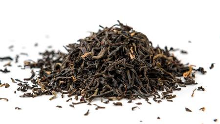 assam: Indian ASSAM golden tips tea isolated