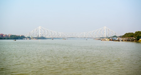 hugely: Long view of Howrah bridge