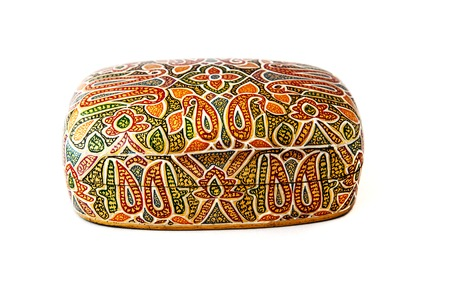 lacquered: Traditional indian lacquered box for jewel