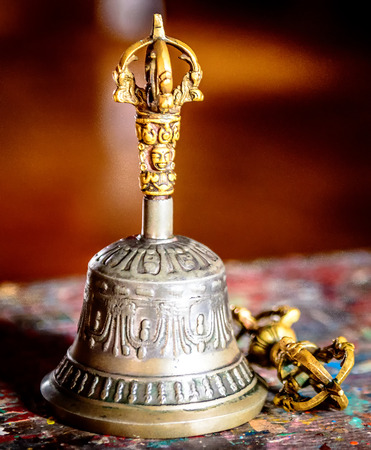 Tibetan Buddhist ritual tools - vajra and bell