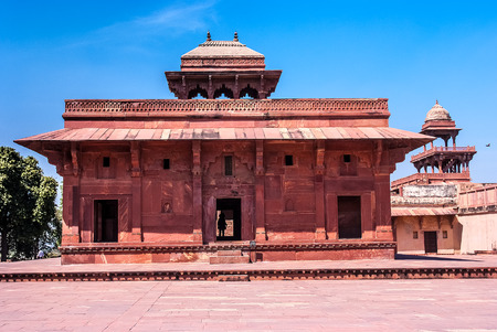 fatehpur sikri: Mariam-uz-Zamani House, Fatehpur Sikri, India Editorial