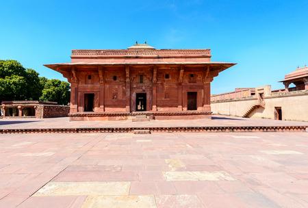 fatehpur: Mariam-uz-Zamani House, Fatehpur Sikri, India Editorial