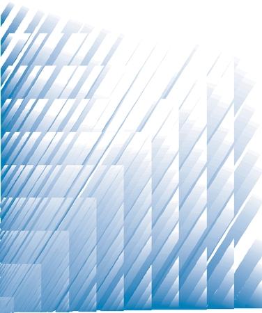 ブルー抽象的な対角線