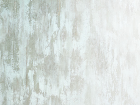 Worn pale white green painted wood surface fade to white Stock Photo