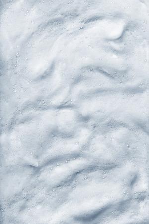 Abstract blue white foam soap bubble background Reklamní fotografie