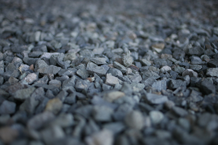 Grey Gravel Stones from Side