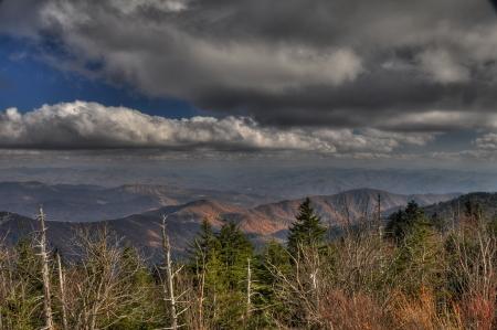 great smokies: Smokey Mountain Clouds