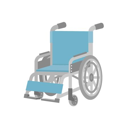 A wheelchair seen from the diagonal  イラスト・ベクター素材