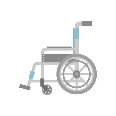 Wheelchair Sideways side