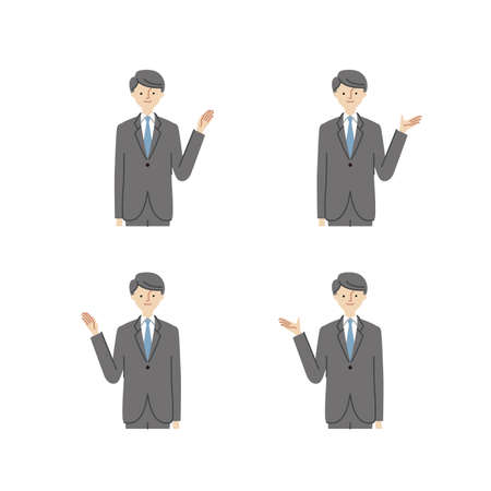 Business: Pointing At Something · Hand Gestures · man (fill)