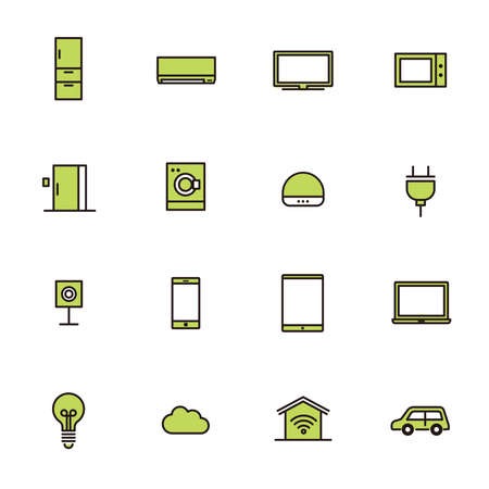 Simple Icon Set: Home Remodeling B 矢量图像