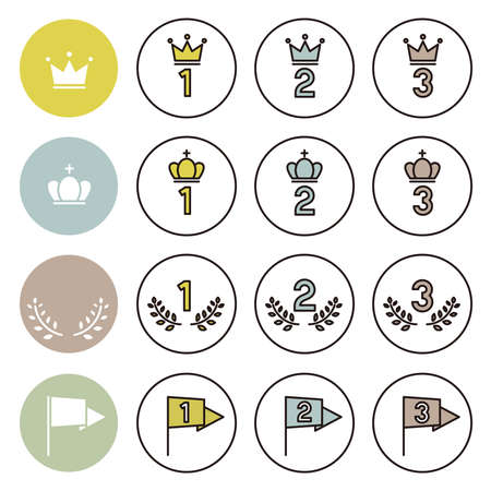 Simple Icon Set: Ranking 矢量图像