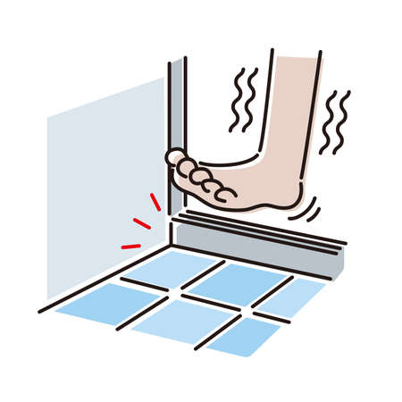 Bath trouble: Dangerous steps in the bathroom