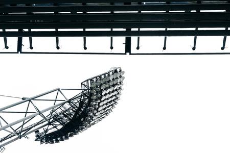 Stadion Lichter am Park in München Lizenzfreie Bilder