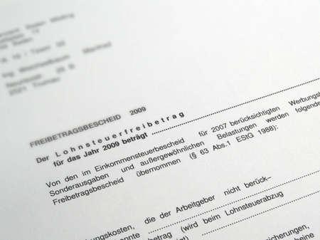 allowance: A letter of allowance