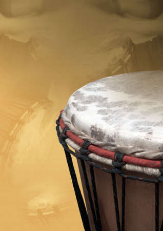 drumming: A isolated percussion instrument