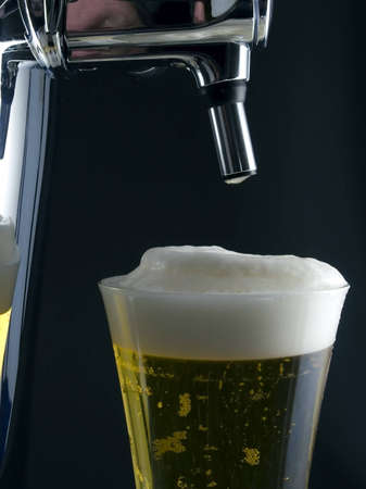 carbonic: A Glass Of Cold Beer Stock Photo