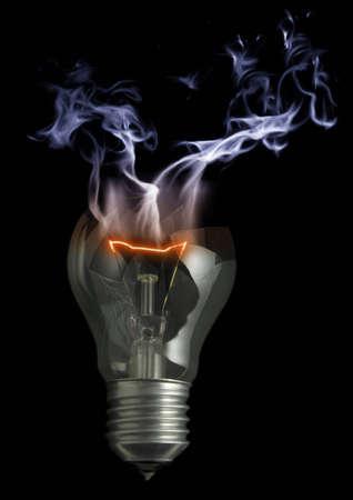 Shattered Bulb photo