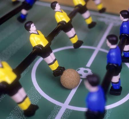 gelb: Tabletop Soccer